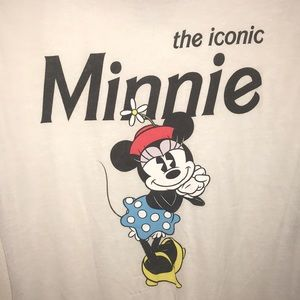 Disney Tops - Sheer Minnie Mouse high low t-shirt 💙
